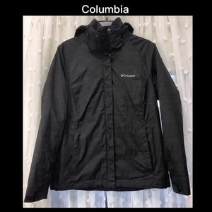 COLUMBIA M Black Thermal Coil Interchangeable Coat